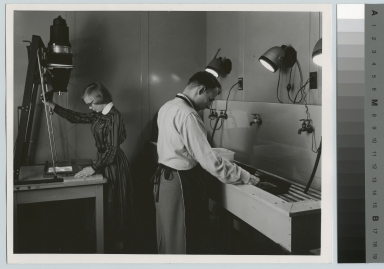 Darkroom facilities, Department of Photographic Technology, Rochester Institute of Technology