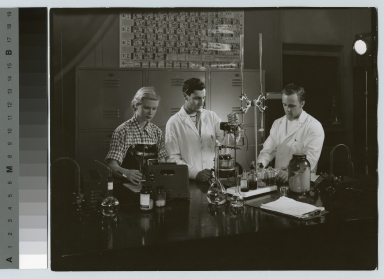 Photography chemistry lab, Department of Photographic Technology, Rochester Institute of Technology