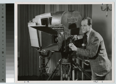 Motion picture camera operation, Department of Photographic Technology, Rochester Institute of Technology