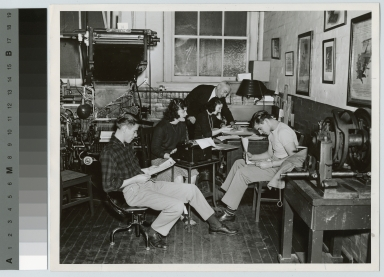 Unidentified students, Department of Publishing and Printing, Rochester Institute of Technology