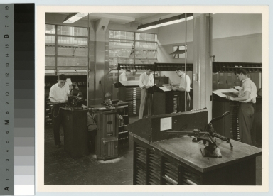 Typesetting class, Department of Publishing and Printing, Rochester Institute of Technology