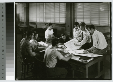 Students and faculty, Department of Publishing and Printing, Rochester Institute of Technology