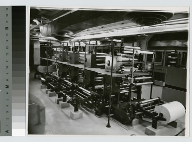 Offset printing press laboratory, Department of Publishing and Printing, Rochester Institute of Technology