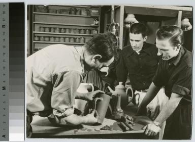 Ceramics class, School for American Craftsmen, Rochester Institute of Technology
