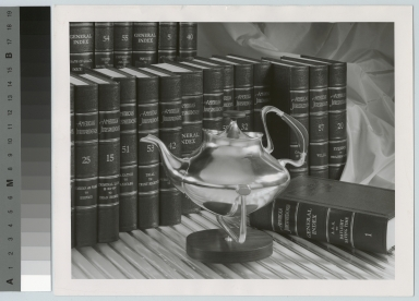 Silver tea kettle, School for American Craftsmen, Rochester Institute of Technology