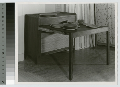 Buffet with extension table, School for American Craftsmen, Rochester Institute of Technology