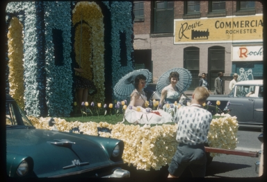 Rochester Institute of Technology spring weekend parade, 1960