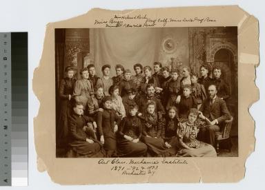 Art class, Mechanics Institute, Rochester, N.Y.