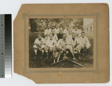 Mechanics Institute baseball team, 1909