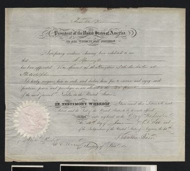 Franklin Pierce declaration