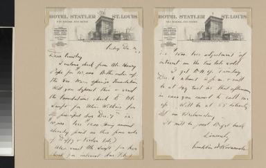 Franklin Delano Roosevelt letter