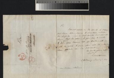 Van Buren letter to Lerries