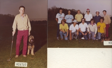 Earl Fuller and Group Portraits of RIT Golf Team