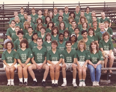 1988 Student Orientation Services Leaders