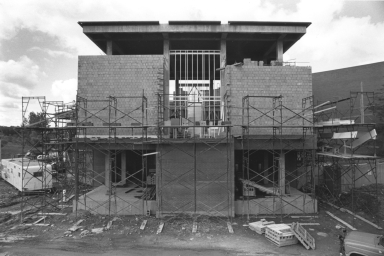 Construction of Kilian J. and Caroline F. Schmitt Interfaith Center