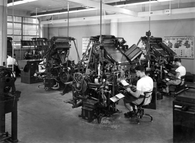 Linotype-Intertype Laboratory