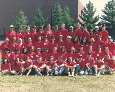 1996 Student Orientation Services Leaders