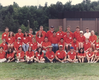 1997 Student Orientation Services Leaders