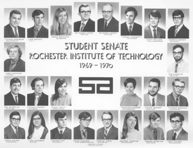 1969-1970 SA Student Senate