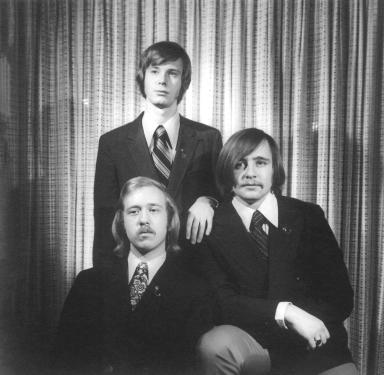 Zeta Tau Founders Bartle G. Taylor, Herbert H. Grabb, and Douglas J. Dychko