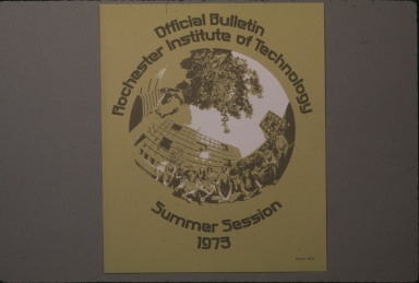 Summer Session Bulletin cover