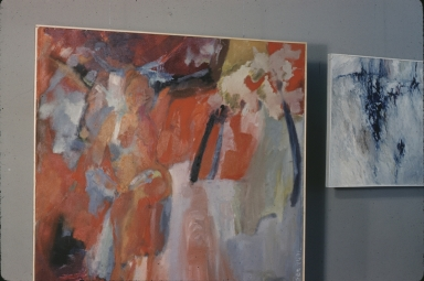 Unidentified Student abstract painting