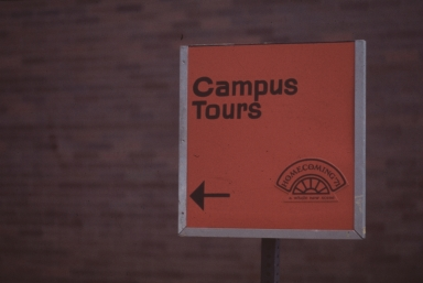 Homecoming Tour Sign