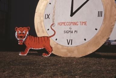 Sigma Pi's Homecoming Tiger