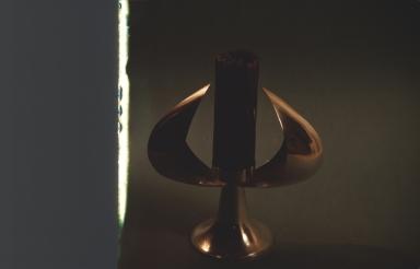 Keep? Golden candle holder
