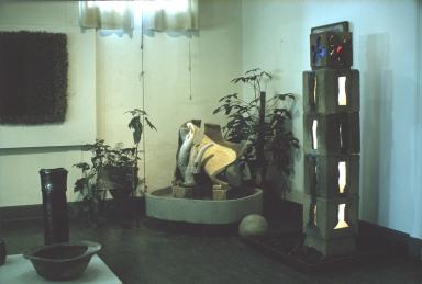 Display of ceramic work