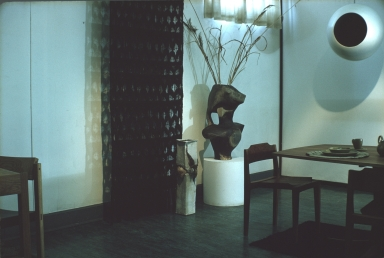 Exhibition of furniture and decorative pieces