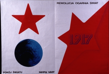 1917 rewolucja organia swiat: pokoj swiatu = miru mir