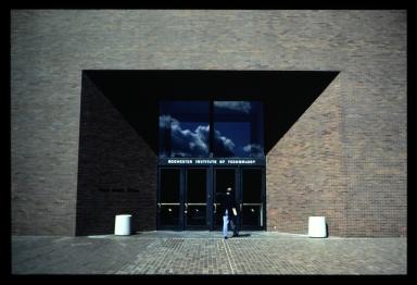 George Eastman Hall entrance