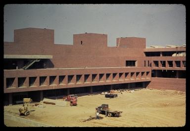 Eastman Kodak Quad under construction