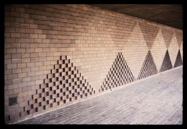 Loggia Wall by Josef Albers