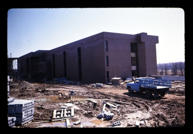 Construction of Thomas Gosnell Hall