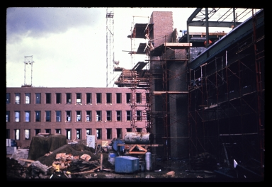 Construction of Henrietta campus buildings