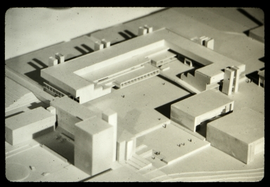 Model of the proposed Henrietta campus