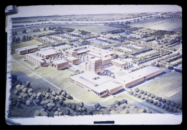 Artist rendering of proposed Henrietta campus