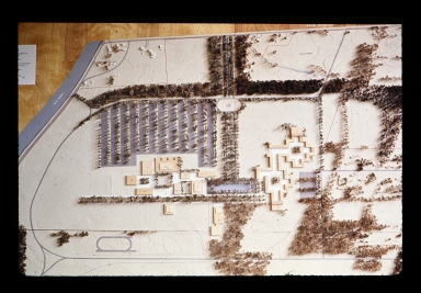Wall model of proposed Henrietta campus