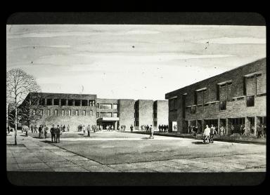 Artist sketch of proposed Henrietta campus