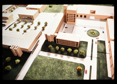 3-D model of proposed RIT campus
