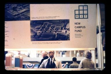 New campus fund exhibit panel