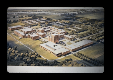 Concept painting of campus