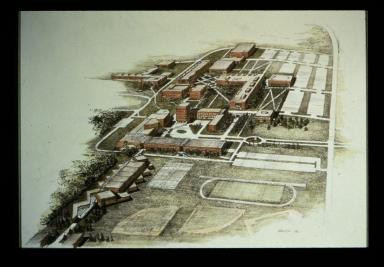 Sketch of Henrietta campus
