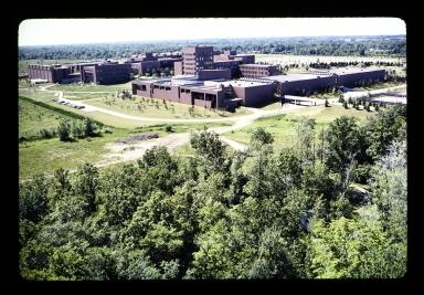 Aerial view of Henrietta campus