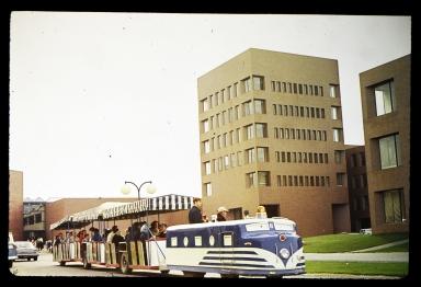 New campus tour train