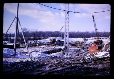 Early construction of Henrietta campus