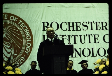 Speaker at dedication weekend event