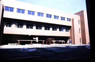 Liberal Arts Hall construction